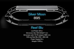 SILVERMOON REEF BLU 895mm
